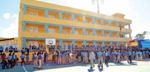 Ministerio de Educación transfiere más de $300 millones para mejorar escuelas