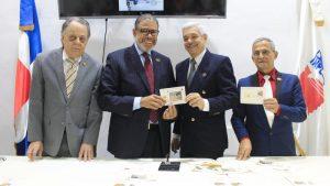 INPOSDOM pone en circulación emisión postal para Sociedad Numismática