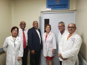 Designancon el nombre de Dra. Gianna Blanco unidad hospital Moscoso Puello