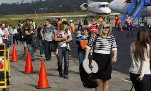Llegada de turistas a Rep. Dominicana aumentó un 4,7 % entre enero y mayo
