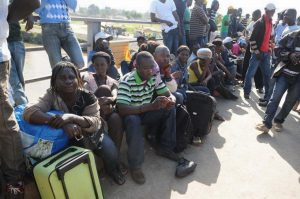 Interceptan en Guatemala a 56 migrantes, en su mayoría haitianos