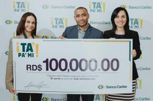 Banco Caribe premia ganadoresde promoción sobre el ahorro