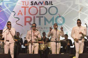 Aniversario de Sambil a ritmo de Revolución Salsera, Ala Jazá y Mozart La Para