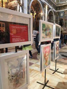 "Artistas dominicanos exponen en ""Fabriano in Acquarello"""