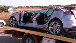 SANTIAGO: Mueren tres personas y otra resulta herida en accidente de tránsito