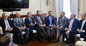 Visita Andy Dauhajre al Palacio Nacional desata andanada de críticas en las redes