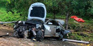 SFM: Tres muertos y dos heridos deja accidente en el municipio Arenoso