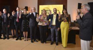 Juramentan Alexis Beltré como nuevo presidente ACROARTE
