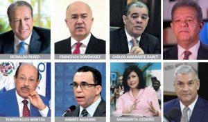 OPINA: ¿Cuál de éstos será el candidato del Partido de la Liberación Dominicana?