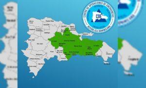 El COE emite alerta verde para diez provincias por vaguada y onda tropical