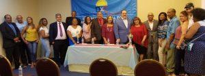 Partido Dominicanos Por el Cambio juramenta  equipos trabajo