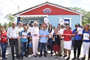INDEPENDENCIA: INVI y Despacho Primera Dama entregan viviendas