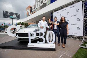Huawei y Altice anuncian ganador del concurso del Huawei P30