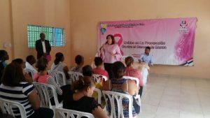 Vicealcaldesa de SDE realiza operativos médicos en prevención cáncer mamas