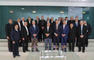 """El Presidente se reunió con obispos; Gobierno dice hablaron de """"turismo"""""""
