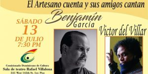 Presentarán 'Cantares del Artesano' en el Comisionado de Cultura