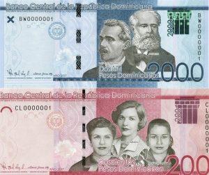 El Banco Central informa cambio de color en billetes de 2000 y 200 pesos