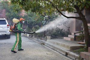 Autoridades de Salud de SPM realizaron movilización social contra dengue