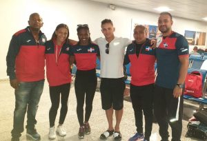 Gimnasia agota entrenamiento en Francia para Panam Lima