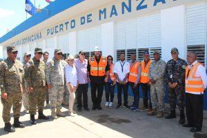 MONTECRISTI: Embajadora de EEUU destaca inversión en Puerto de Manzanillo