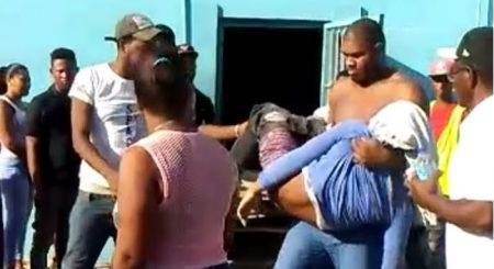 BARAHONA: Se llevan por la fuerza cadáver de hombre que mató la Policía