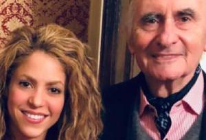 Shakira publica emotivo mensaje por la muerte de su exsuegro De la Rúa