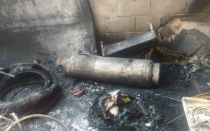 Ocho haitianos quemados en explosión tanque gas en vivienda Sabana Perdida