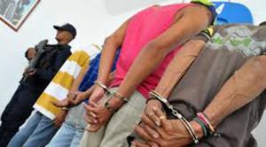 Policía Nacional desmantela banda que asaltaba viviendas en Santo Domingo