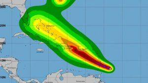 ONAMET emite alertas ante el inminente paso de tormenta Dorian