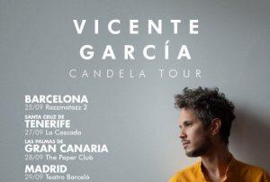 ESPAÑA: Dominicano Vicente García presentará su álbum «Candela»