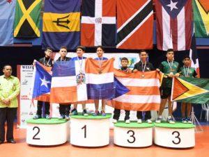RD gana cuatro medallas en Tenis de Mesa del Caribe