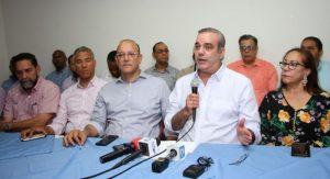 Abinader dice el PRM enfrentará abuso de recursos del Estado