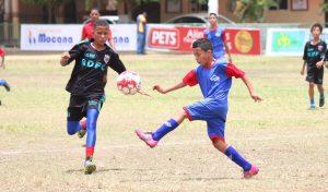 Inauguran Torneo Nacional de Fútbol Infantil con 250 atletas en Moca