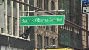 300,000 firmas para llamar Avenida Obama a calle de la Torre Trump