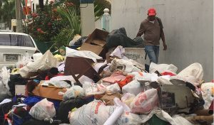 Muestra deficiencias el servicio de recogida basura en Santo Domingo