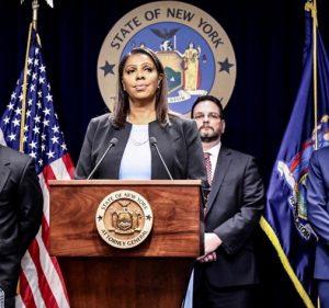 Fiscal de NY lidera coalición por control armas de fuego