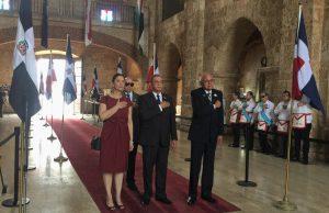 Instituto Duartiano destacaguerrarestauradora en 156 aniversario