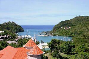Destino: Santa Lucía, belleza del Caribe