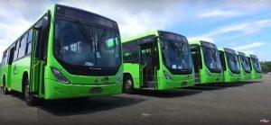 Danilo Medina entrega a OMSA 130 autobuses nuevos de un total de 200