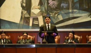 Presidente SCJ niega jueces sirvan a intereses contrarios al derecho