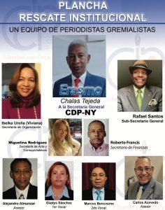 Erasmo Chalas presenta plancha para presidir filial CDP-New York