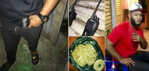 SOSUA: Apresan uno por exhibir en Facebook marihuana, arma y balas