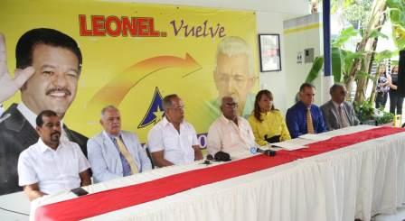 Sector externo del PLD y movimientos ciudadanos anuncian apoyo Abel Martínez