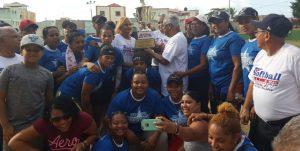 Santiago se corona campeónGran Prix de Softbol Femenino