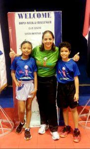 Dafne Sosa y Alexander Tejada irán al Hop Continental Tenis Mesa