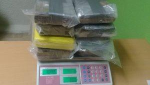 PUNTA CANA: Ocupan  ocho paquetes de droga en aeropuerto