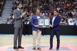 Baloncesto rinde tributo en Madrid al legendario 'Chicho' Sibilio