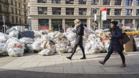 Nueva York se queja por el exceso de basura en la calle