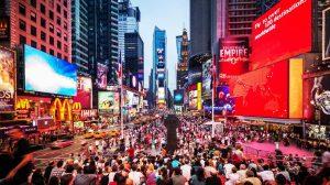 Sonidos parecidos armas de fuego genera pánico en Times Square