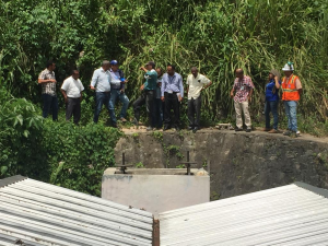 LOS CACAOS: INAPA busca solucionar problema de agua